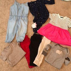 Babygirl 6-9 month bundle